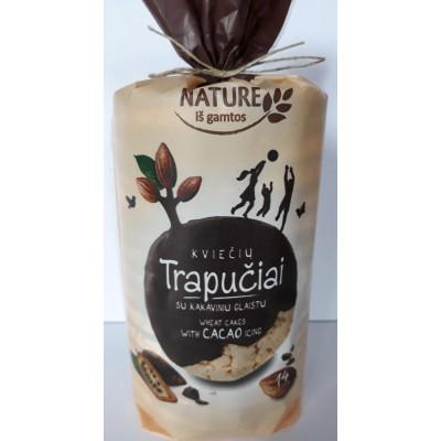 Kviešu galetes kakao glazūrā 210g