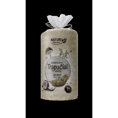 Kviešu galetes kokosriekstu glazūrā 210g