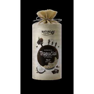 Kviešu galetes piena glazūrā 210g
