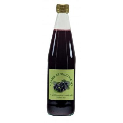 Aroniju sīrups (pasterizēts) 500ml