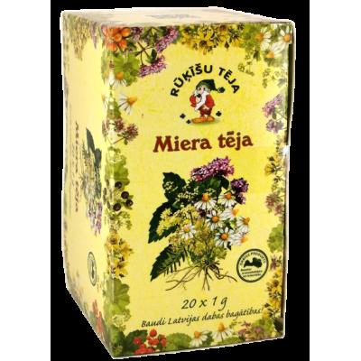 Rūķīšu Miera tēja 20x1g