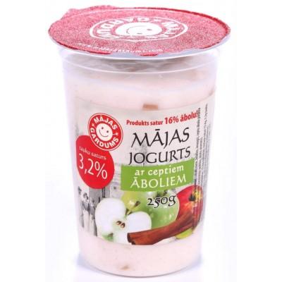 Jogurts ar āboliem un kanēli 3.2% 250g