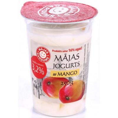 Jogurts ar mango 3.2% 250g