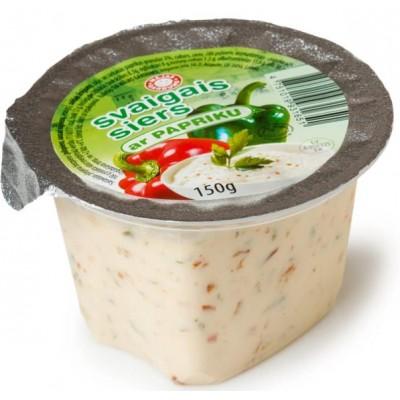 Svaigais siers ar papriku 150g