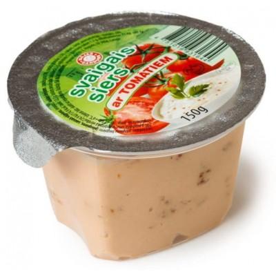 Svaigais siers ar tomātiem 150g