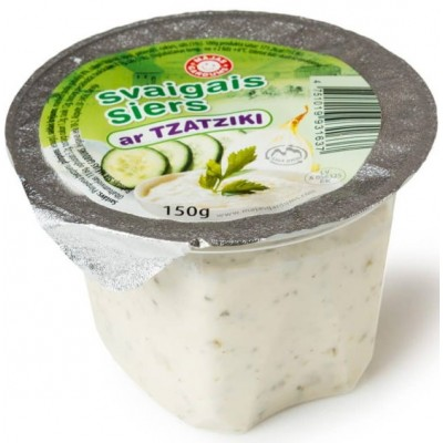Svaigais siers ar tzatziki 150g