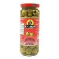 FIGARO Zaļās olīvas bez kauliņiem 340 g